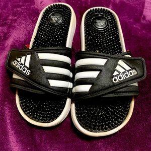 I am selling size 6 Adidas flip-flops